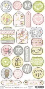 SWEET PRINCESS - elementy DIE - CUTS