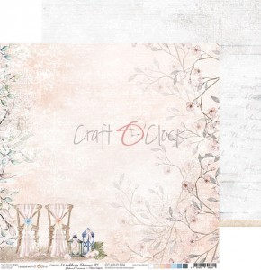 WEDDING DREAM - 04 - dwustronny papier 30,5x30,5cm