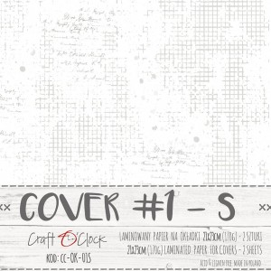 COVER - 01 S - specially coated papier - 2 sheets