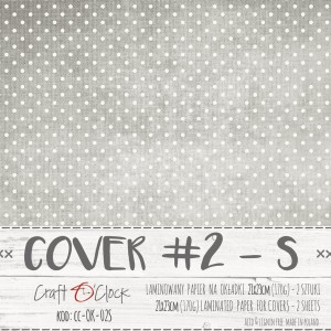COVER - 02 S - specially coated papier - 2 sheets