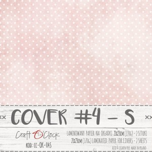 COVER - 04 S - specially coated papier - 2 sheets