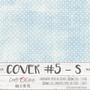 COVER - 05 S - specially coated papier - 2 sheets