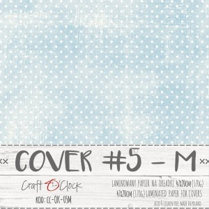 COVER - 05 M - specially coated papier