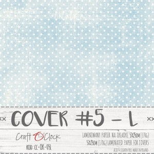 COVER - 05 L - specially coated papier